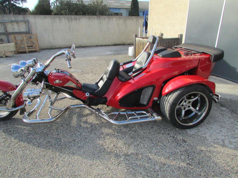 trike boom moteur ford