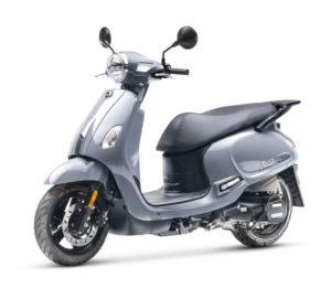 FIDDLE IV E5 scooter 50 gris