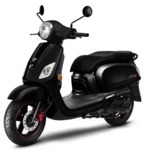 scooter sym 50 rétro