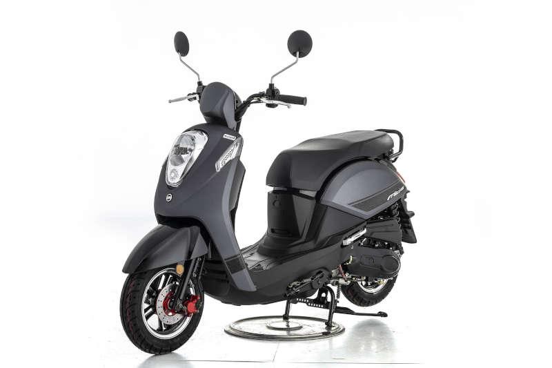 scooter sym mio 50 noir