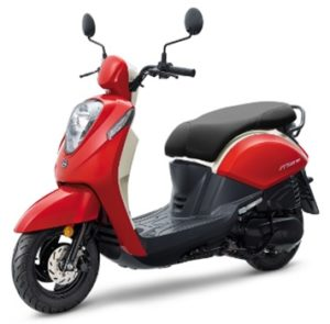 scooter 50 ville rouge