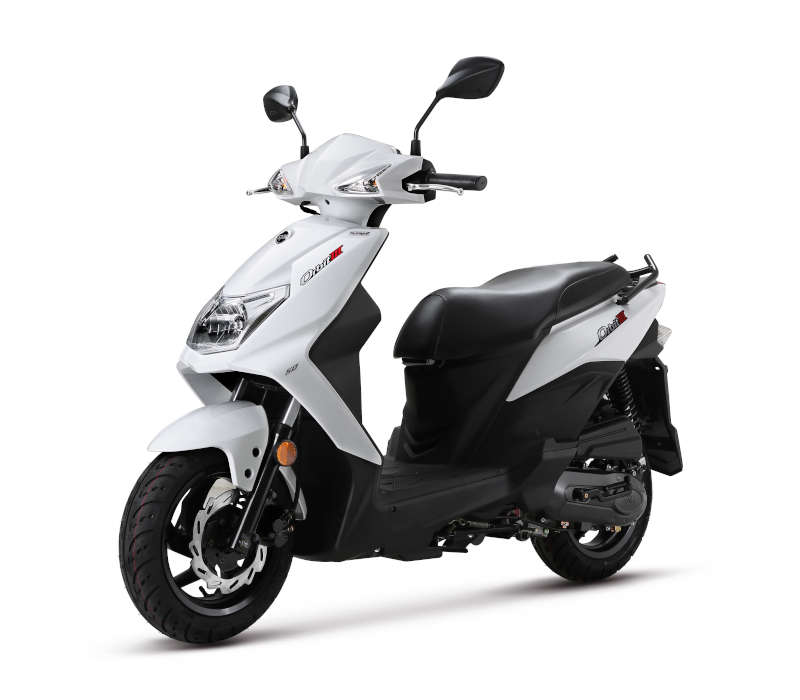 scooter 50 orbit 3 blanc