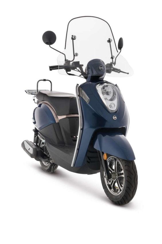 petit pare brise scooter sym mio 50