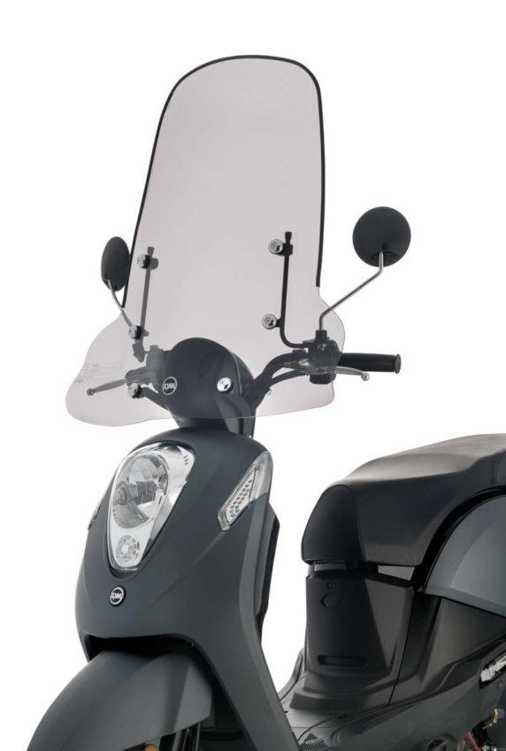 pare brise grand modèle scooter mio 50