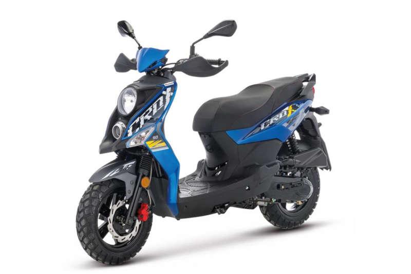 Scooter 50 bleu