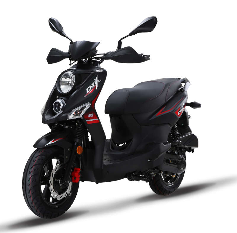 scooter crox noir 50