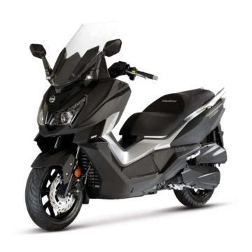 sym scooter 125 noir urbain
