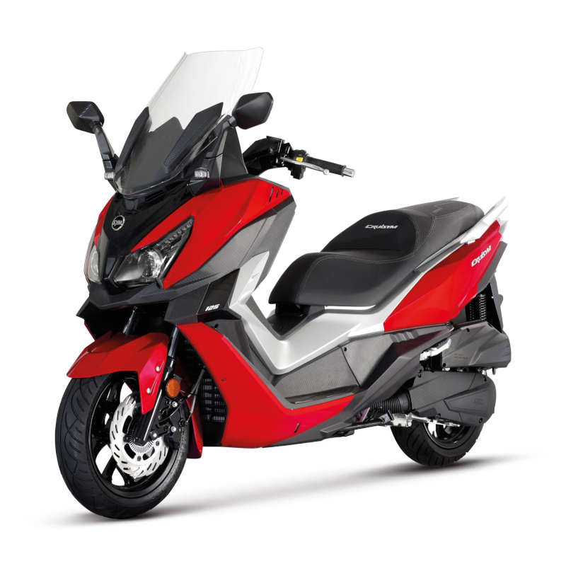 Scooter cruisym 125 rouge