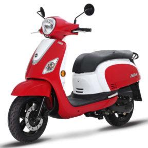 Scooter rétro ville 125