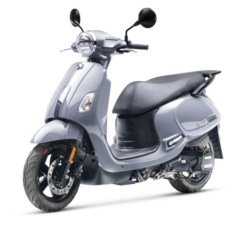 scooter sym 125 fiddle 4 euro5 gris