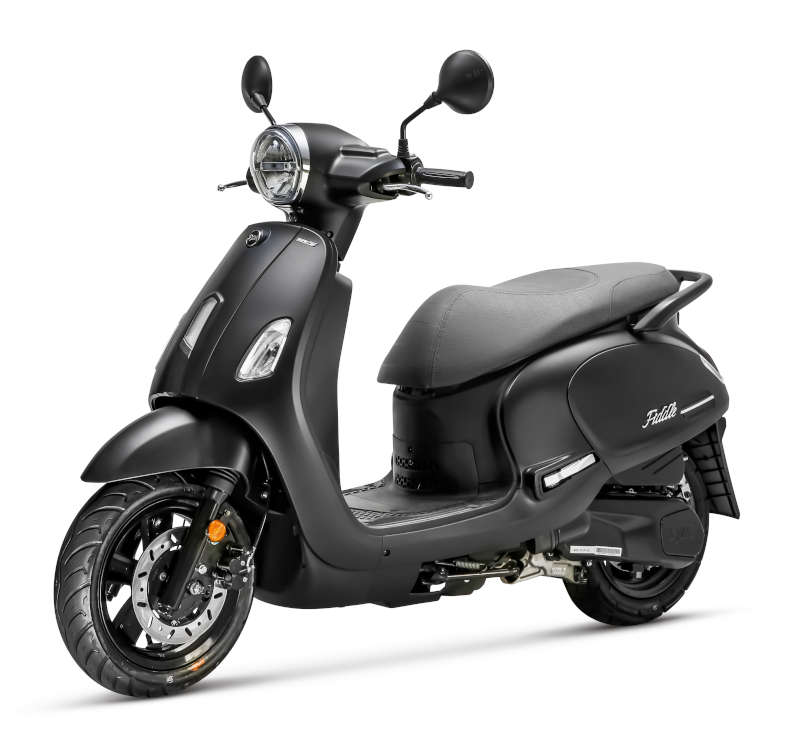 scooter sym fiddle 125 euro5