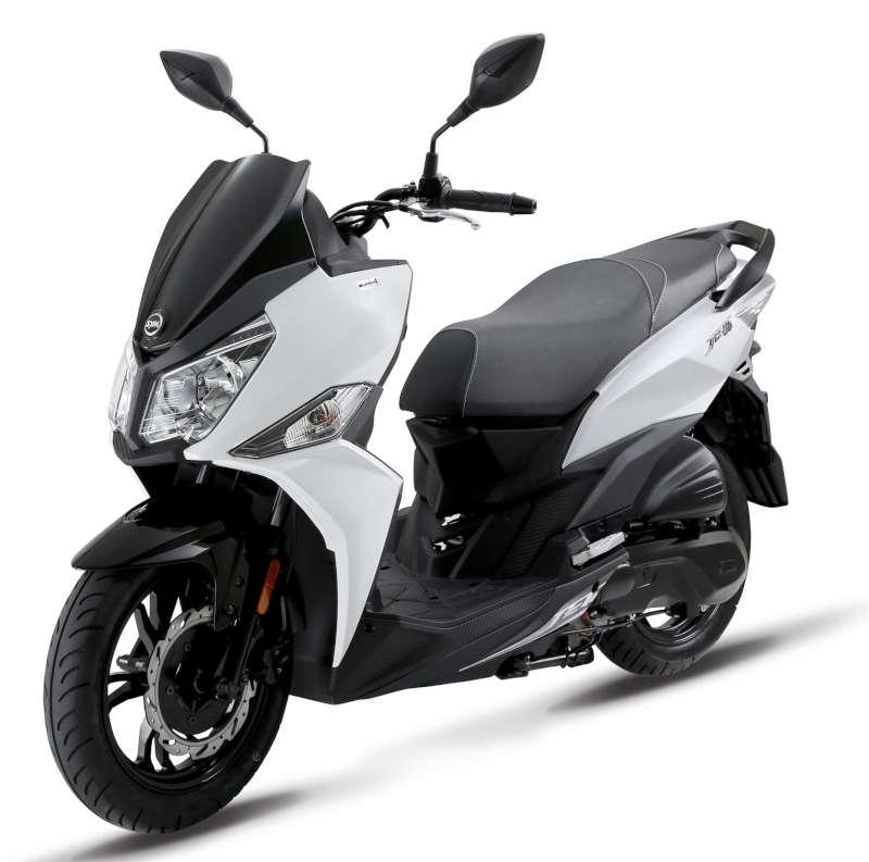 scooter 125 sym urbain blanc