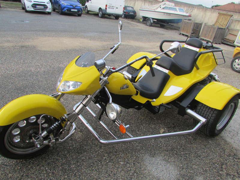 trike chopper moteur cox 1600