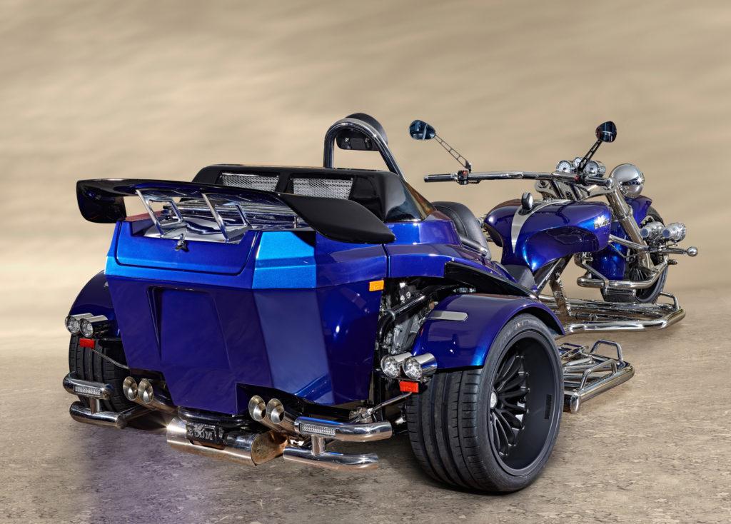 trike 200 cv turbo nouveau becquet