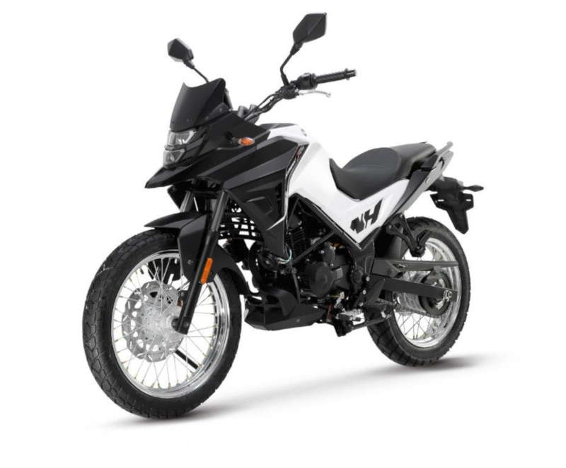 sym moto 125 trail blanche