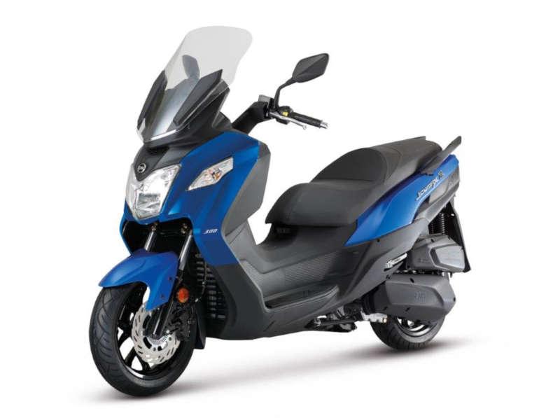 sym joymax scooter bleu