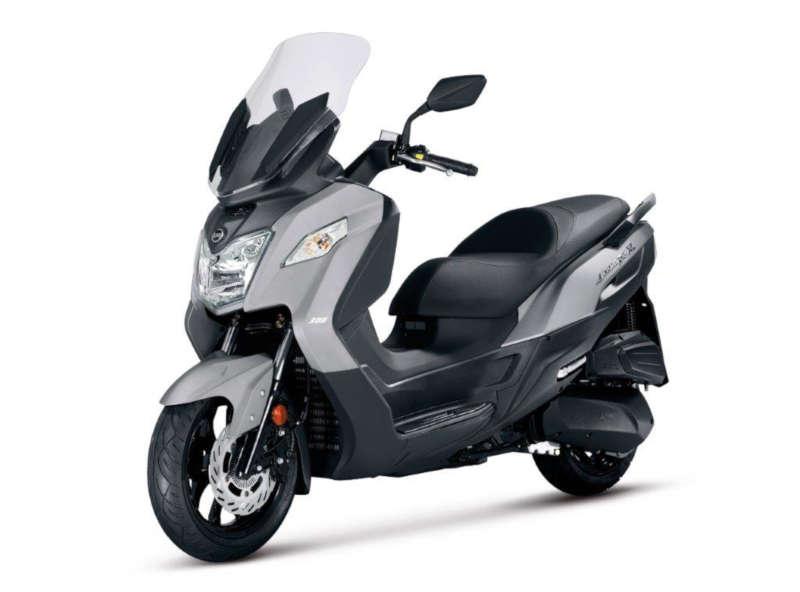 scooter sym joymax 125 gris