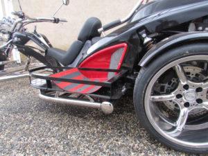 porte chariot trike automatique handicapé