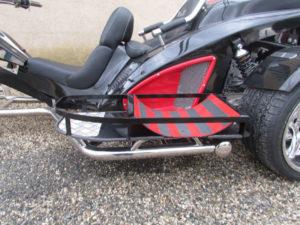 Adaptation trike handicapé porte chariot roulant