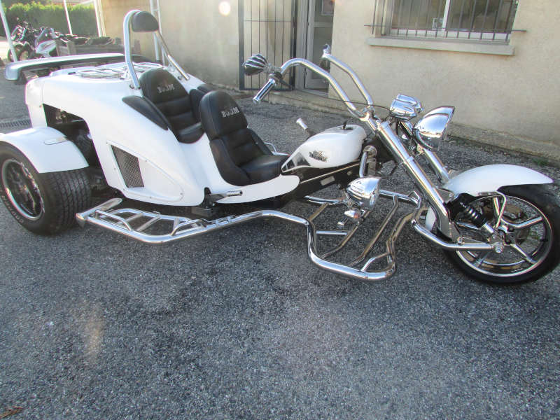 trike new highway pack inox
