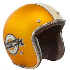 casque jaune vintage