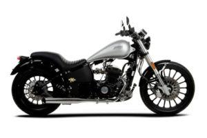 daytona moto custom grise