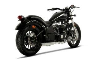 daytona moto noir